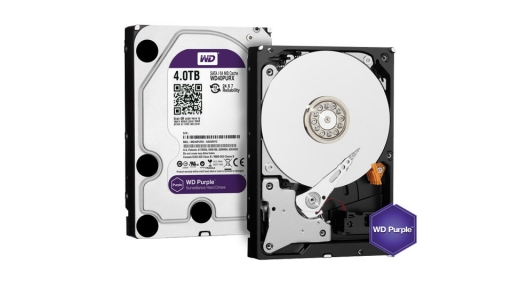 WD Purple IntelliPower [WD40PURX] HDD - 4Tb