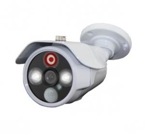 Уличная AHD видеокамера 2Mpix с ИК и LED подсветкой