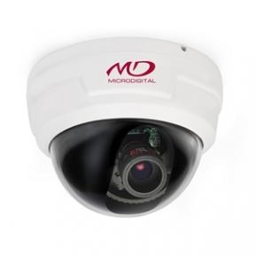 Купольная HD-SDI камера для помещений 4Mpix L2.8-12мм