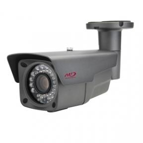 Корпусная HD-SDI камера 2Mpix в уличном кожухе с ИК-подсветкой и нагревательными элементами L6.0-50мм