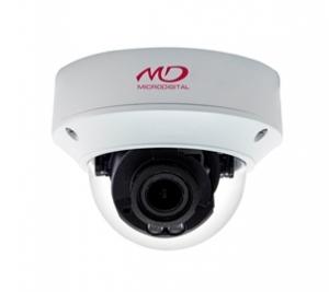 Антивандальная купольная IP-камера 4Mpix с ИК-подсветкой L2.8-12мм