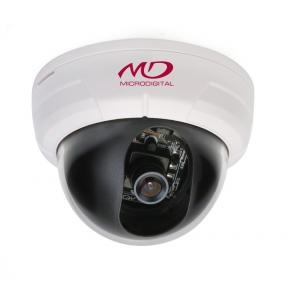 Купольная антивандальная HD-SDI камера 2Mpix с ИК-подсветкой и нагревательными элементами L2.8-12мм
