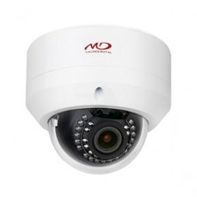 Антивандальная купольная IP-камера 2Mpix с ИК-подсветкой L2.8-12мм
