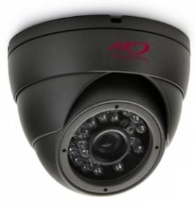 Купольная антивандальная HD-SDI камера 2Mpix с ИК-подсветкой L3.7 мм