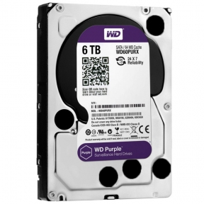 WD Purple IntelliPower [WD60PURX] HDD - 6Tb