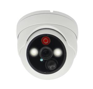 Антивандальная AHD видеокамера 2Mpix с ИК и LED подсветкой