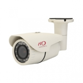 Корпусная HD-SDI камера 4Mpix в уличном кожухе с ИК-подсветкой и нагревательными элементами L2.8-12мм