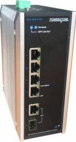 Уличный PoE коммутатор PUS-154-4-1i 4 10/100BASE-TX 802.3af&at+ 1 10/100BASE-TX+ 1 100BASE-X, расширенный диапазон температур, неуправляемый