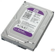 WD Purple IntelliPower [WD10PURX] HDD - 1Tb
